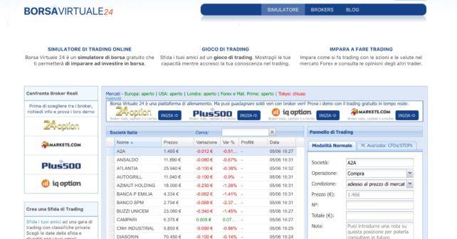 Borsa Virtuale 24